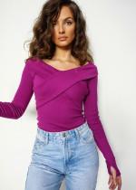 Basicowe bluzki LilaLou – sprawdzona baza do zestawień w różnym stylu