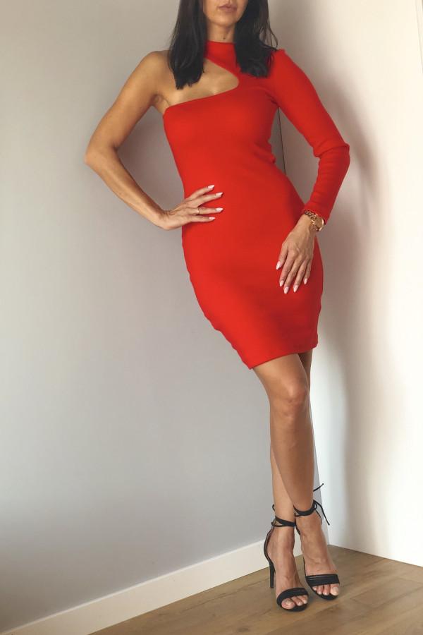 Sukienka LARA Czerwona