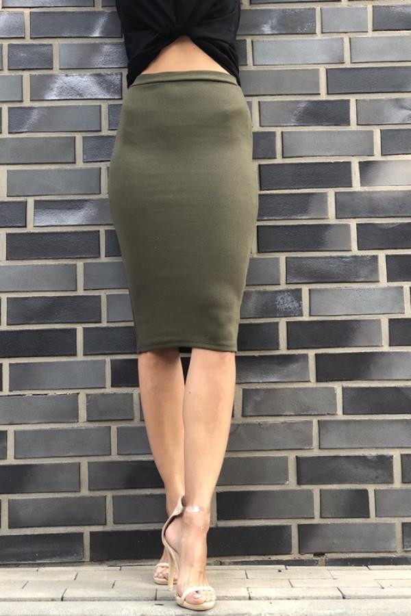 Spódnica TUBA Basic Khaki