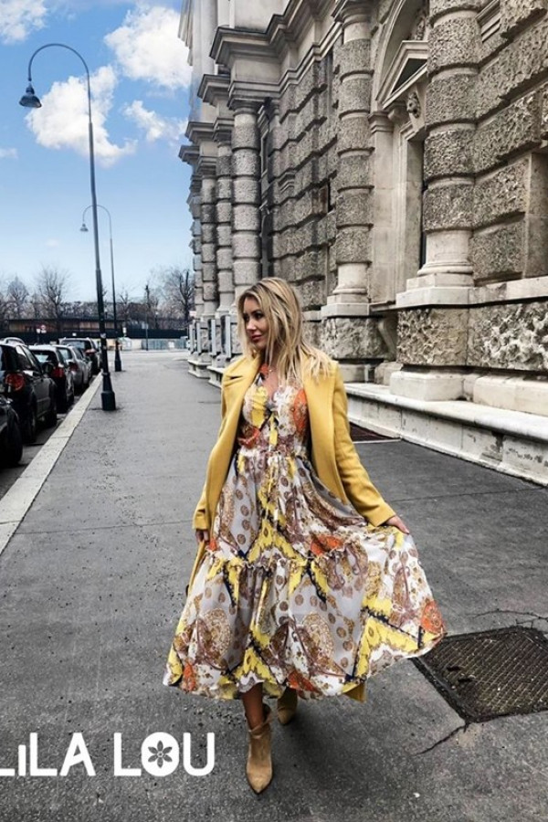 Sukienka LAILA Versace