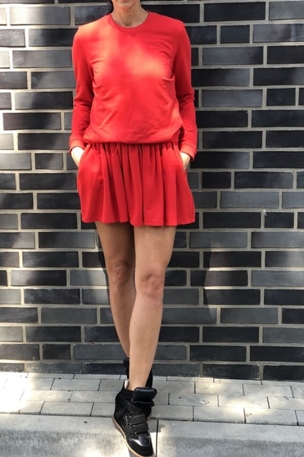 Sukienka MANCHESTER Czerwona