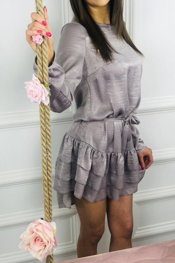 Sukienka GAJA Szara 1