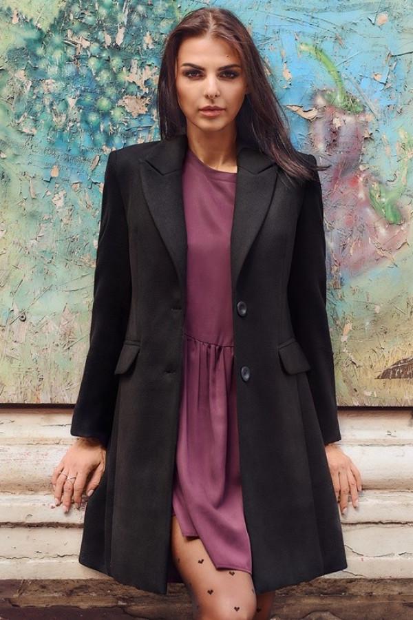 Płaszcz EVA 2 Czarny