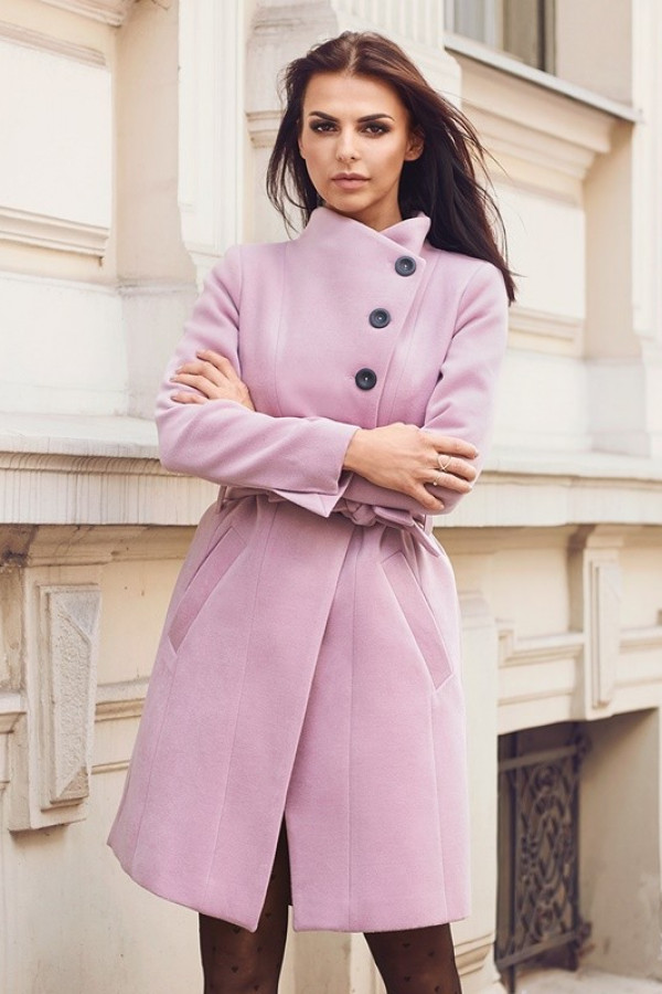 Płaszcz MEDIOLAN Różowy