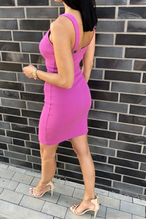 Sukienka MALWI fuksja 1