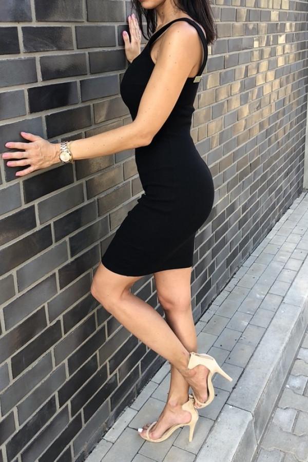 Sukienka MALWI Czarna 1