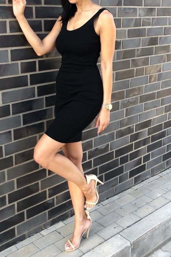 Sukienka MALWI Czarna
