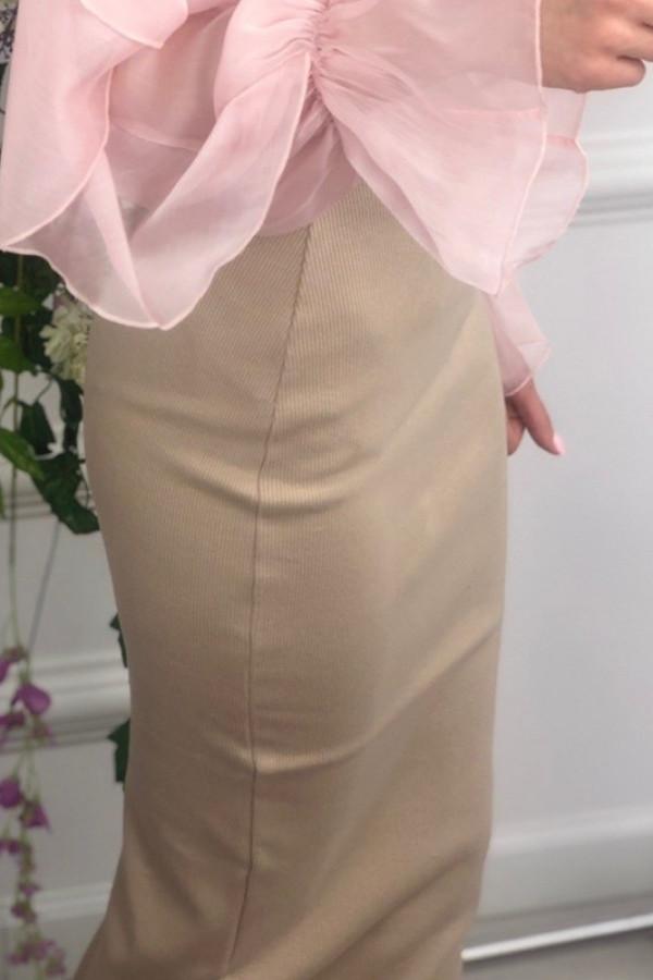 Spódnica TUBA Basic Beżowa 1