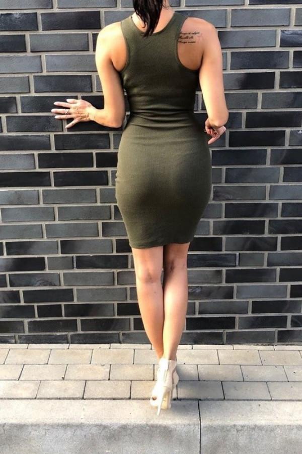 Sukienka LOREN Fresh Khaki 1