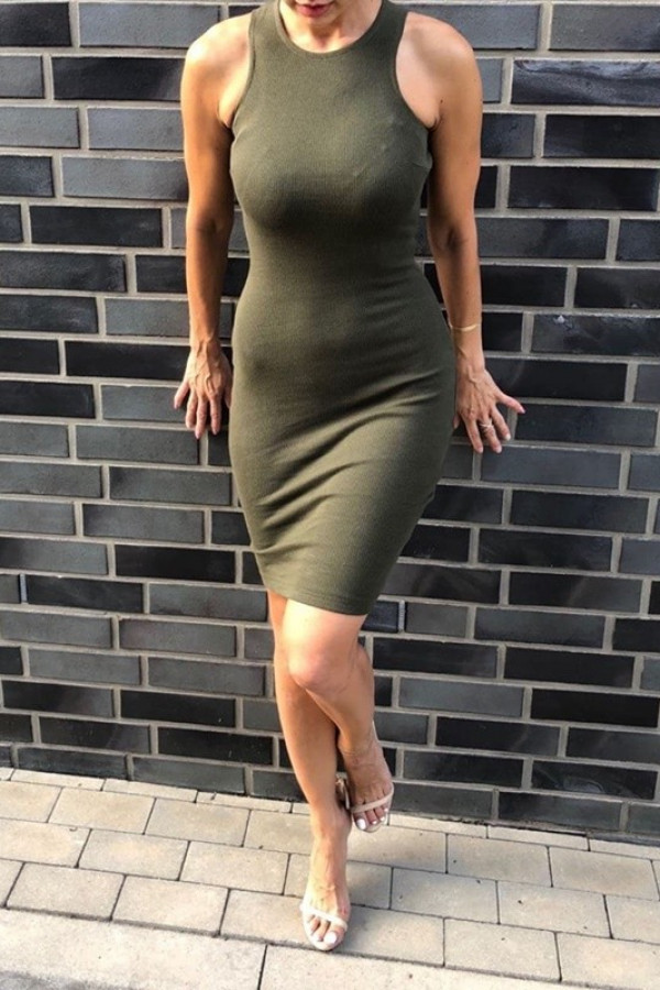 Sukienka LOREN Fresh Khaki