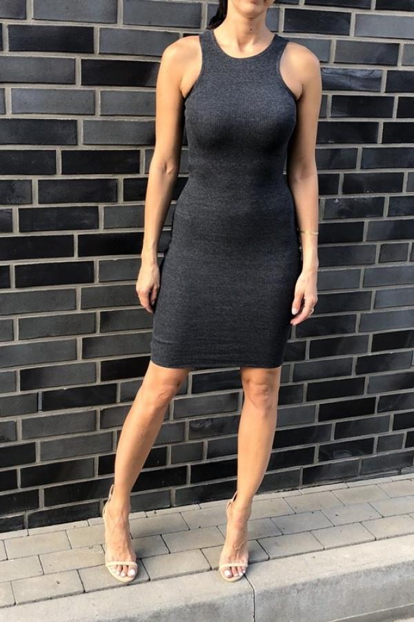 Sukienka LOREN Fresh Szary