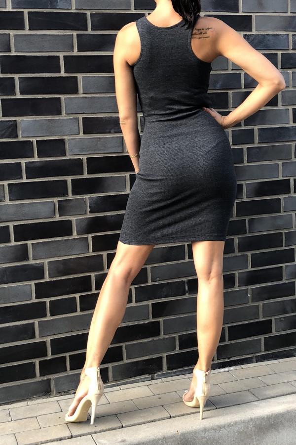 Sukienka LOREN Fresh Szary 1