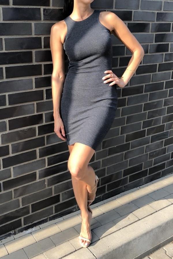 Sukienka LOREN Fresh Szary 2