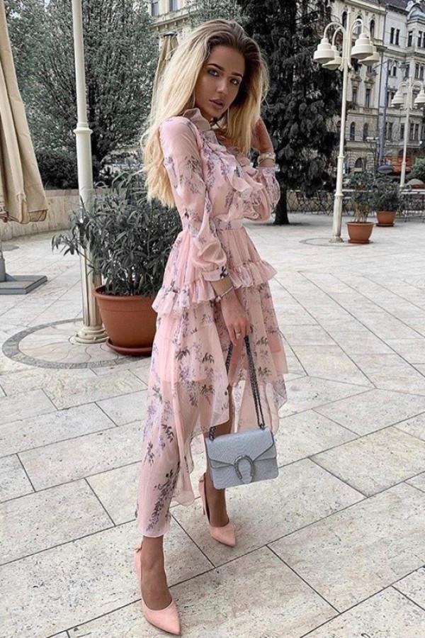 Sukienka LAURA Róż