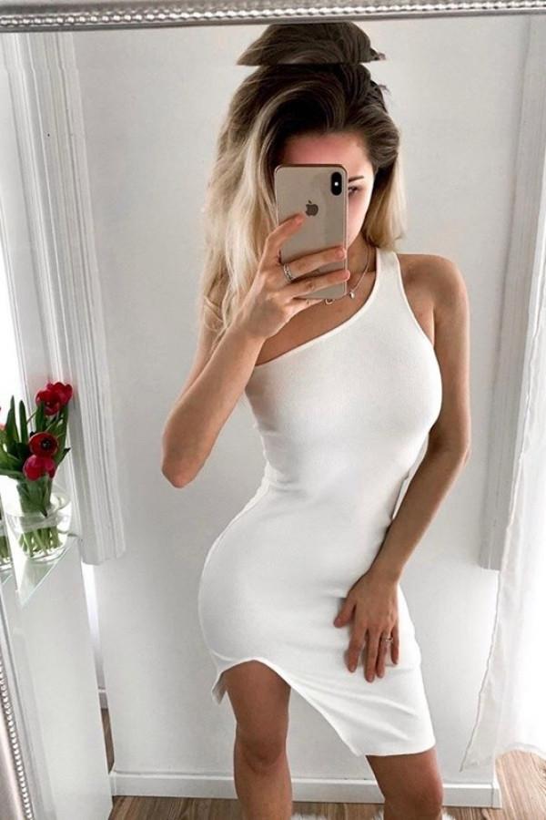 Sukienka DALIDA Off White 1