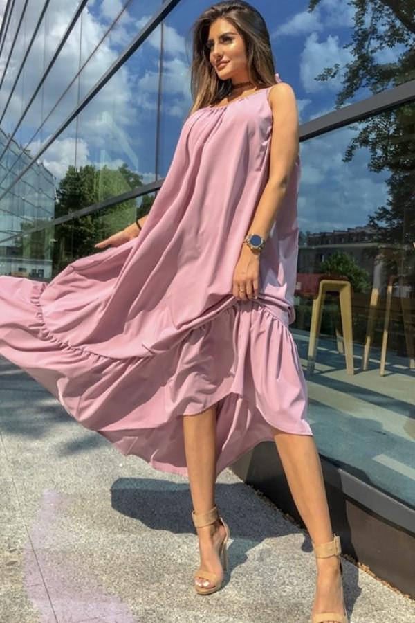 Sukienka GYPSY Pudrowy Róż 1
