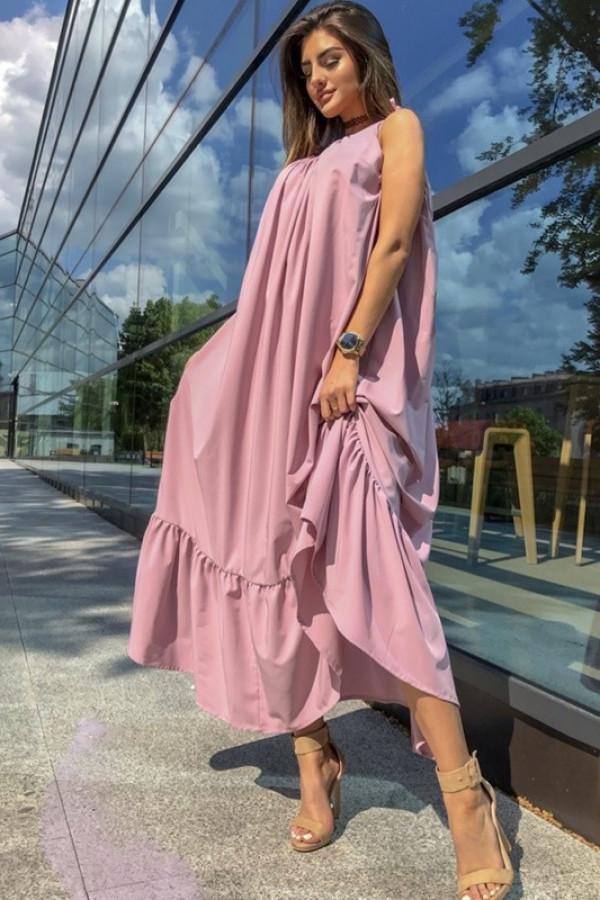 Sukienka GYPSY Pudrowy Róż 2