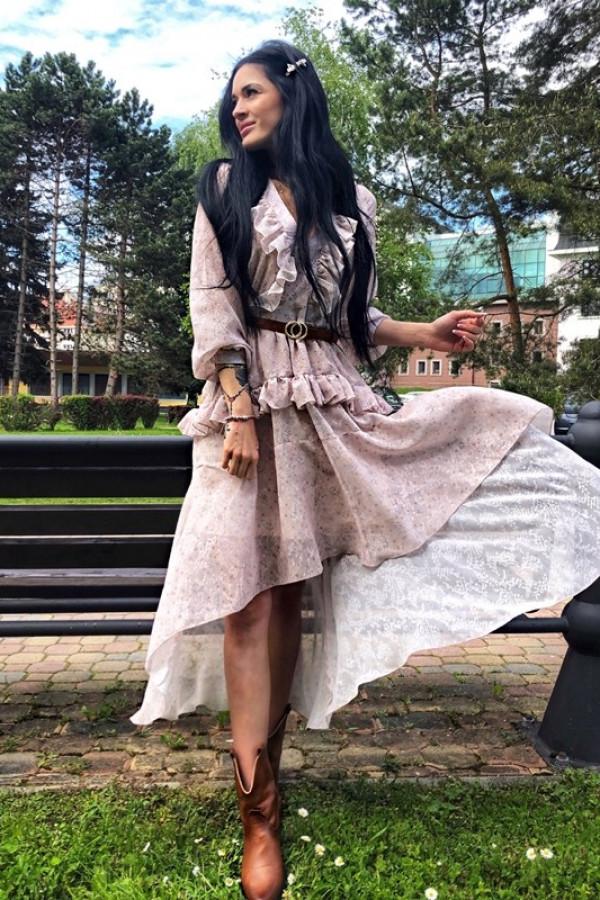 Sukienka LAURA Beige