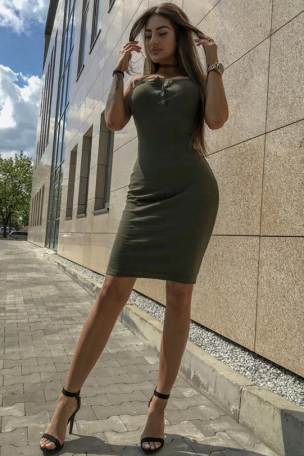 Sukienka LENA Khaki