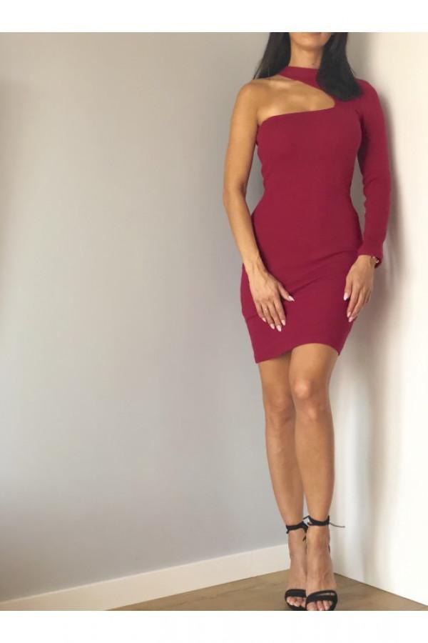 Sukienka LARA Śliwkowy