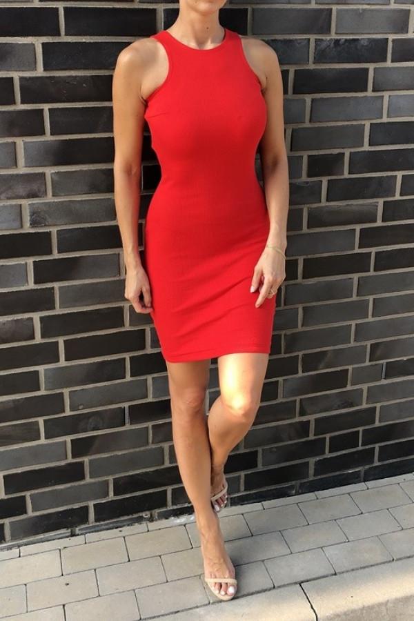 Sukienka LOREN Fresh Czerwona 3