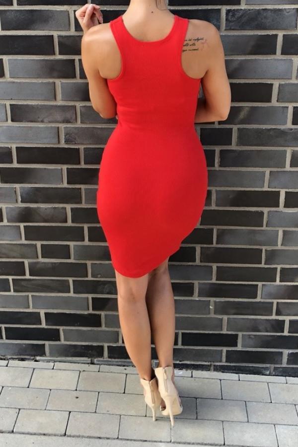 Sukienka LOREN Fresh Czerwona 2