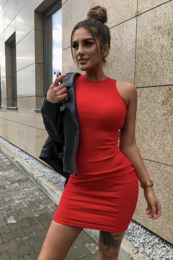 Sukienka LOREN Fresh Czerwona 1