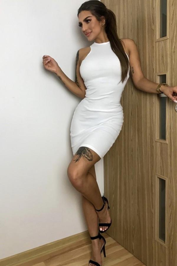 Sukienka LOREN Off White