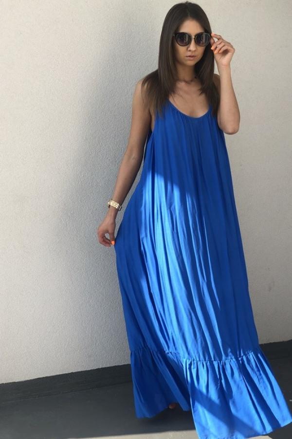 Sukienka GYPSY Niebieska 2