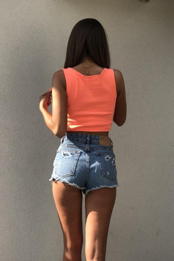 TOP Isabel Neon Pomarańczowy 1