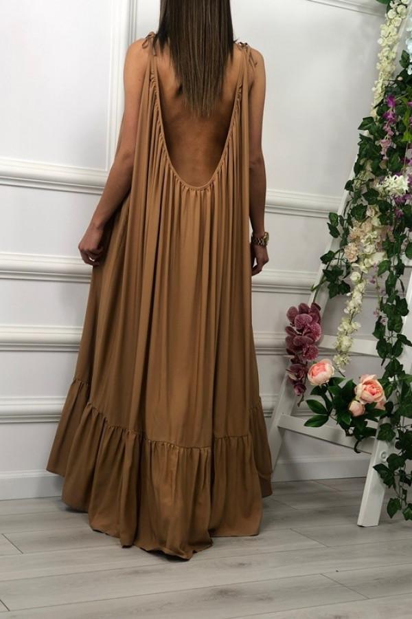 Sukienka GYPSY Karmel 4