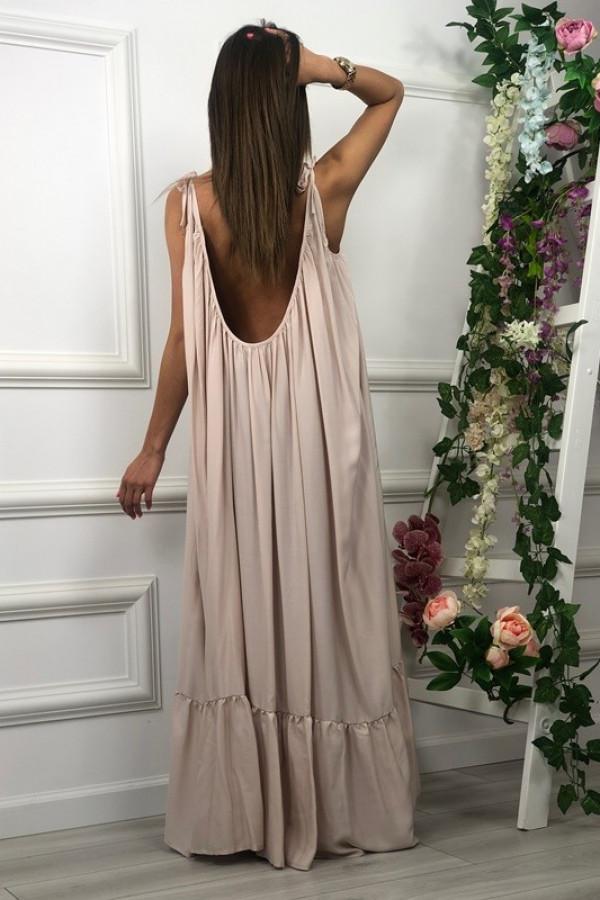 Sukienka GYPSY Beżowa