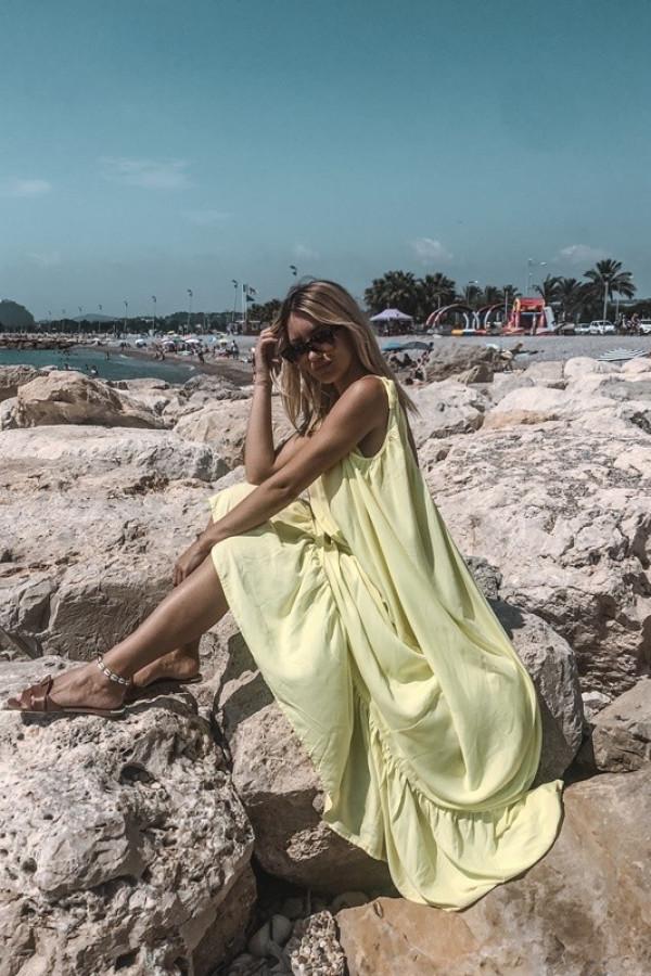 Sukienka GYPSY Żółty 1