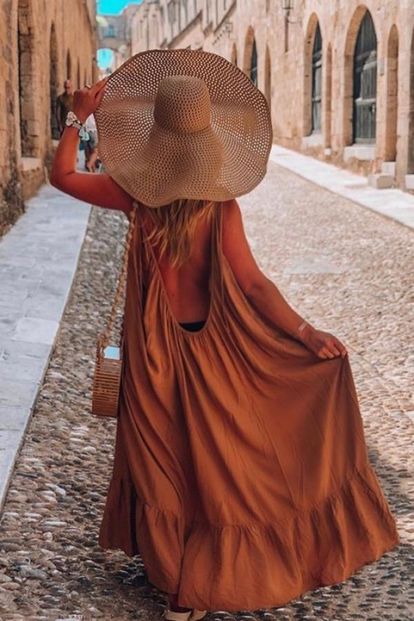 Sukienka GYPSY Karmel 1
