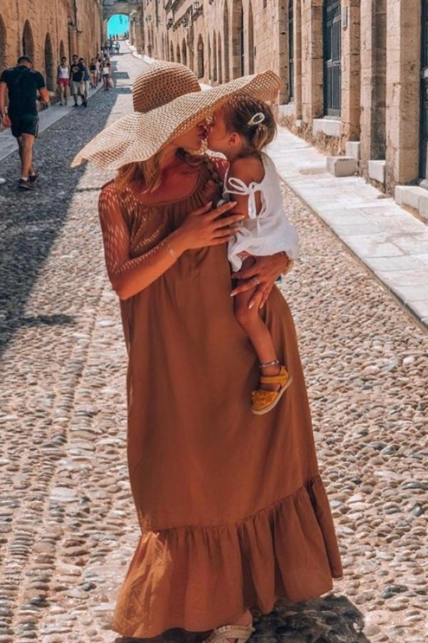 Sukienka GYPSY Karmel 3