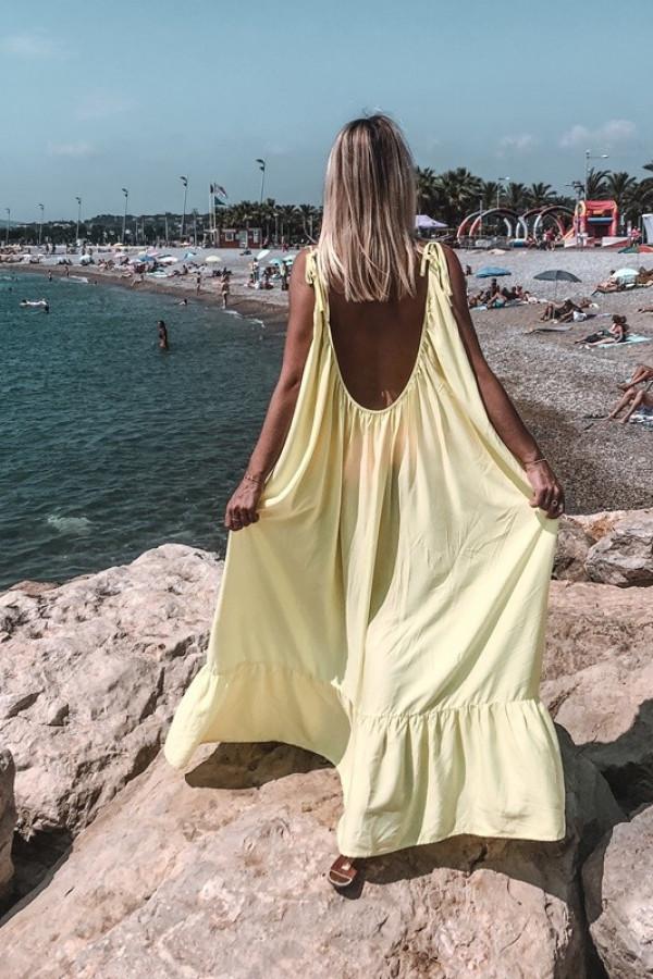 Sukienka GYPSY Żółty
