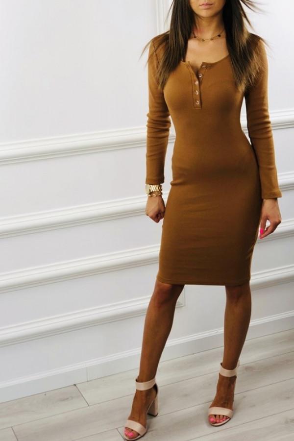 Sukienka MARTII Camel