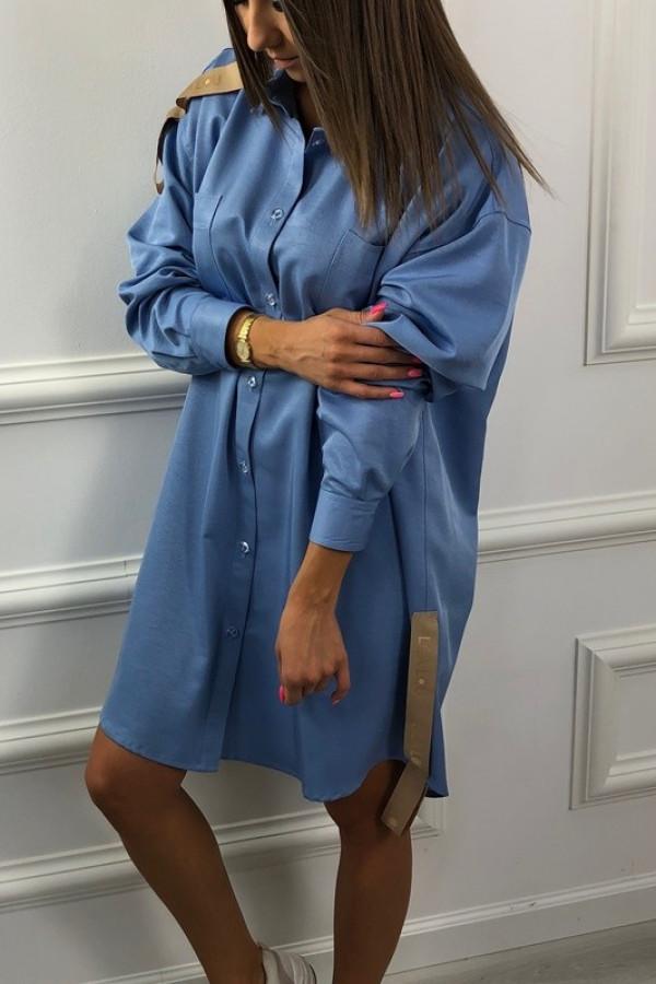 Koszula Lussi Blue