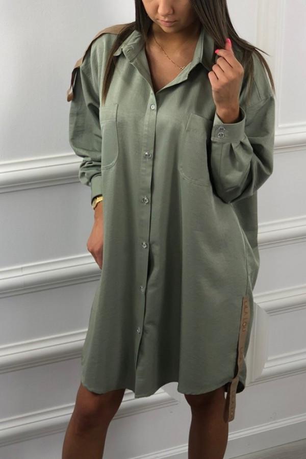 Koszula Lussi Khaki
