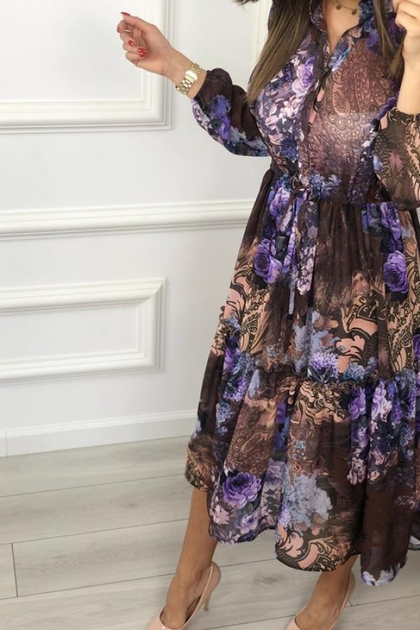 Sukienka LAILA Lila