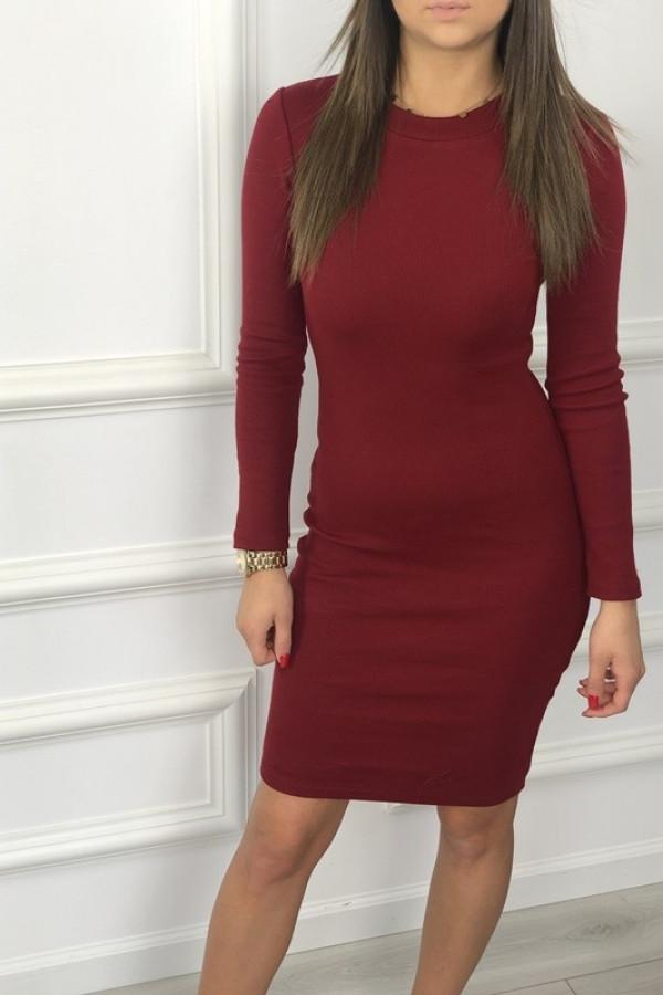 Sukienka PATI Bordowa