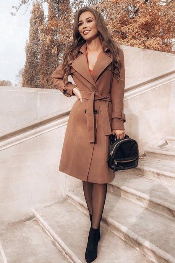 Płaszcz London Brązowy
