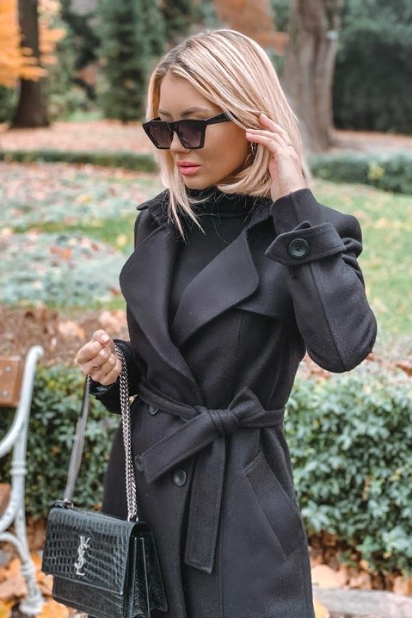 Płaszcz London Czarny