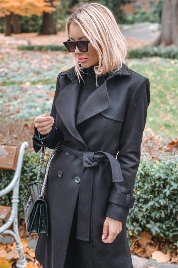 Płaszcz London Czarny 2