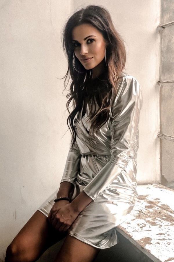 Sukienka Kylie Silver