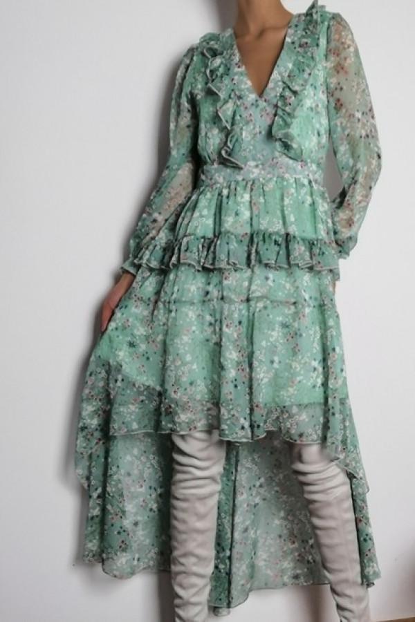 Sukienka LAURA Zieleń 1