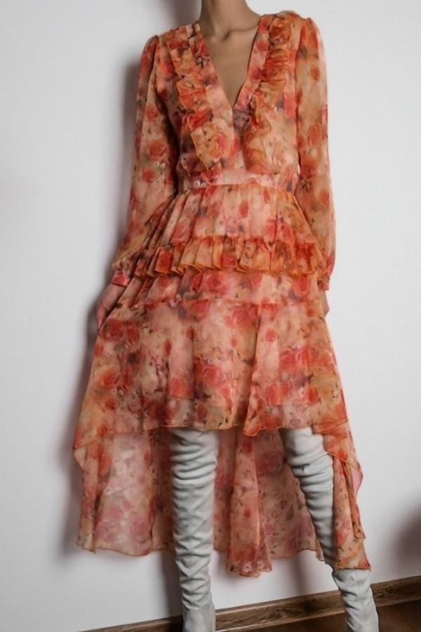 Sukienka LAURA Orange 1