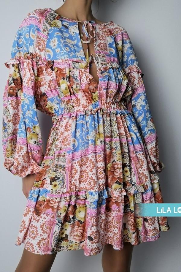 Sukienka Yes Pink 1