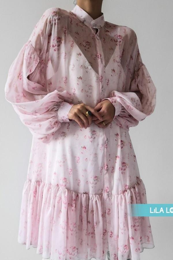 Sukienka ZIMERK Light Pink 1
