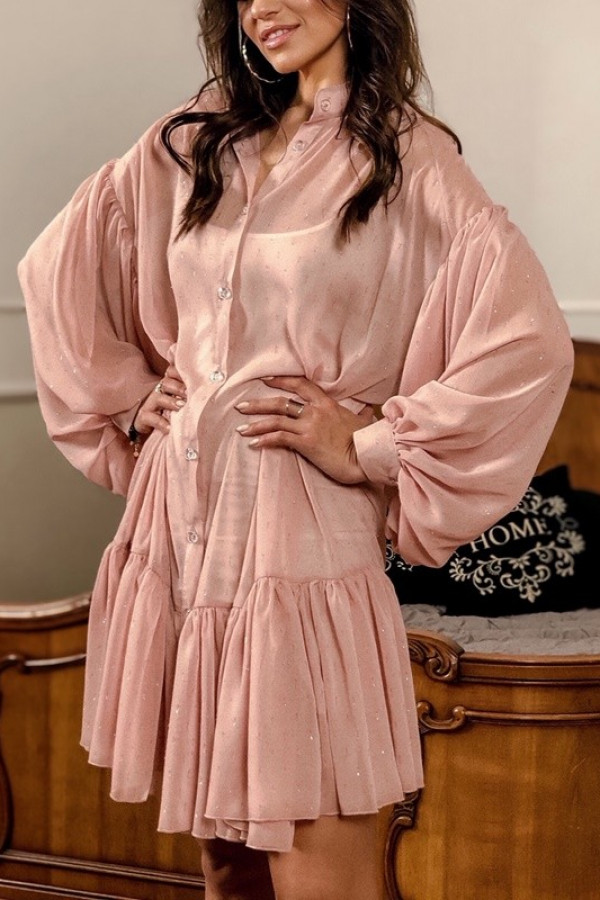 Sukienka ZIMERK Dirty Pink
